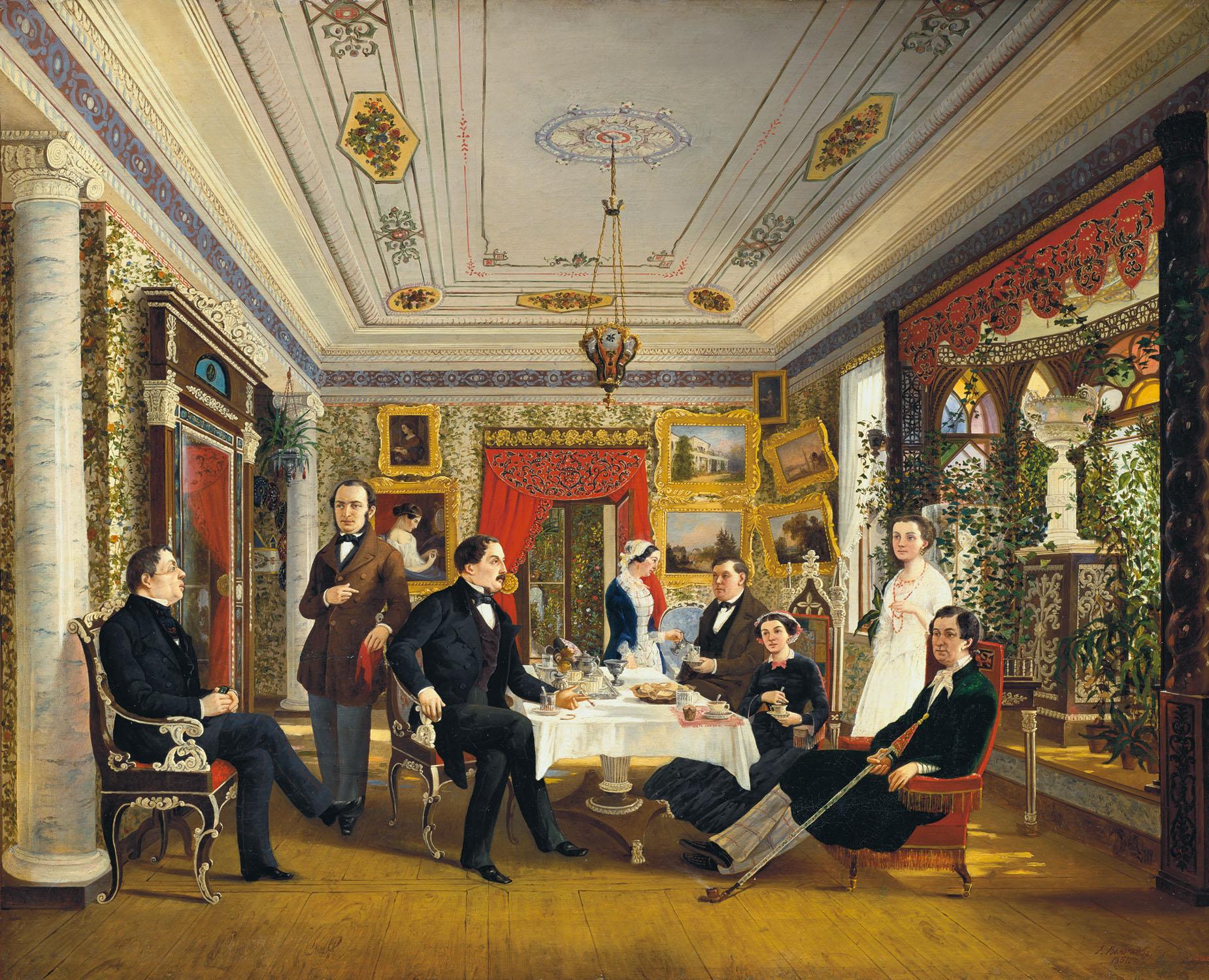 Чайные традиции в России