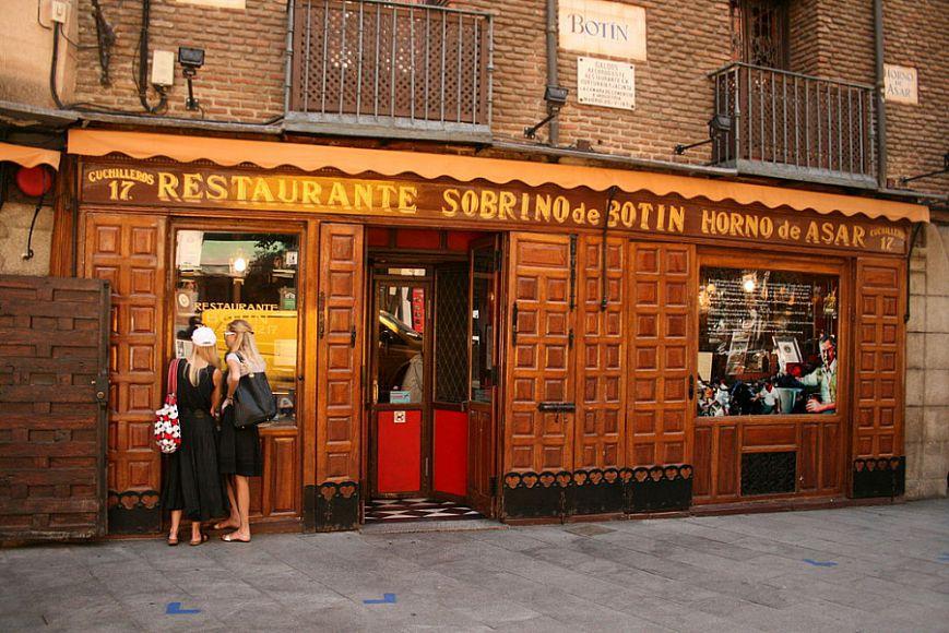 «Ботин» — старейший в мире ресторан