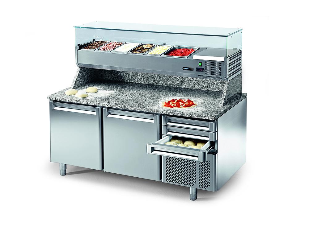 холодильный стол для пиццы