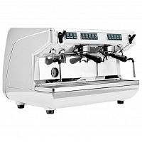 Кофемашина Nuova Simonelli Appia Life 2Gr V 220V white economizer+high groups