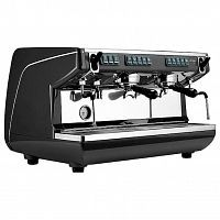 Кофемашина Nuova Simonelli Appia Life 2Gr V 220V black+economizer+high groups