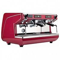 Кофемашина Nuova Simonelli Appia Life 2Gr S 220V red +economizer+high groups